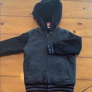 Arizona Jean co fleece lined zippered hoodie